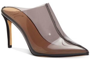 INC International Concepts Inc Women's Kamaya Pointed-Toe Heeled Mules, Created for Macy's Women's Shoes