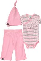 Petunia Pickle Bottom Pink Sweet Celebration Organic Cotton Bodysuit Set