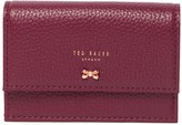 Ted Baker Bow Fold-Over Flap Wallet