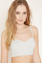 Forever 21 FOREVER 21+ Ladder-Back Cami Crop Top