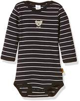 Steiff Unisex Baby 0008743 1/1 Sleeves Horizontal stripes Bodysuit,(Manufacturer Size:68)