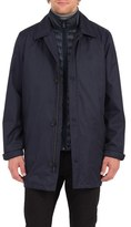Rainforest Men's Summerton 3-In-1 Heat System Waterproof Trench Coat