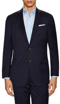 Brooks Brothers Striped Notch Lapel Sportcoat