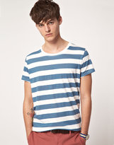 Suit Wide Stripe T-Shirt