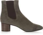 Isabel Marant Danae block-heel suede ankle boots