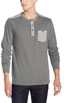 Lucky Brand Men's Three-Button Henley Shirt