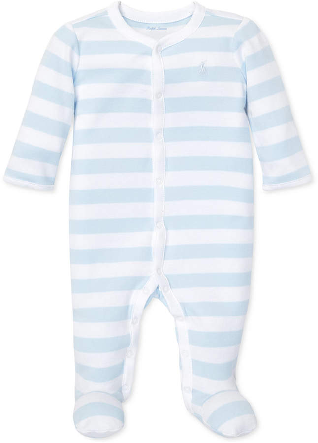 4976f057c Ralph Lauren Baby Boy Coverall - ShopStyle