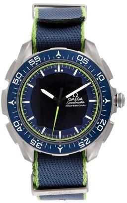 Omega Blue Titanium Speedmaster Skywalker X-33 Solar Impulse 318.92.45.79.03.001 Men's Wristwatch 45 MM