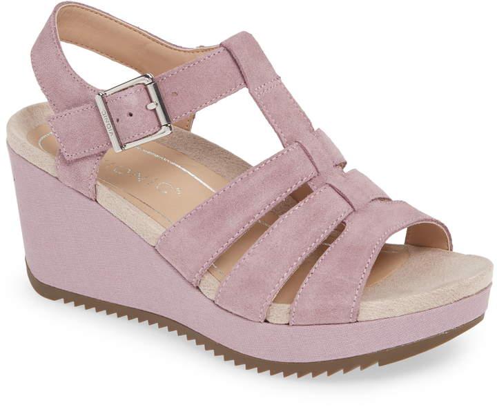 Tawny Wedge Sandal