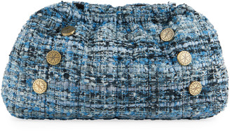 Kooreloo Multicolored Wool Clutch Bag