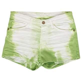 Acquaverde Green Denim - Jeans Shorts for Women