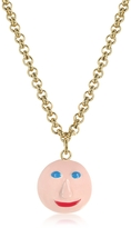 Christopher Kane Face Charm Necklace