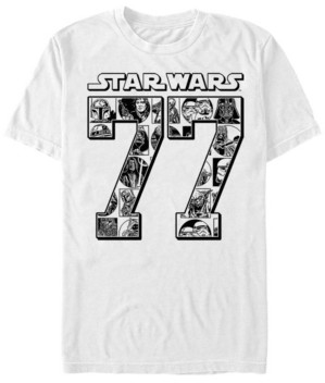 Star Wars Men's Classic Comical Since 77 Short Sleeve T-Shirt