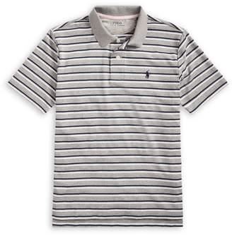 Ralph Lauren Childrenswear Boy's Striped Short-Sleeve Polo