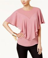 Thalia Sodi Ruffle Overlay Top, Created for Macy's