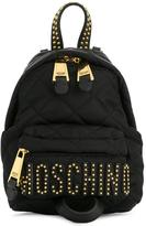 Moschino quilted backpack - women - Leather/Nylon/metal - One Size