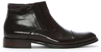 Daniel Sparkford Brown Leather Ankle Boots