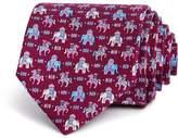 Salvatore Ferragamo Regal Horse & Elephant Classic Tie