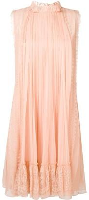 Alberta Ferretti Draped Mini Dress