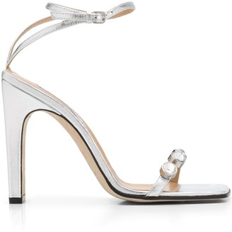Sergio Rossi Sr1 Crystal-Embellished Sandals