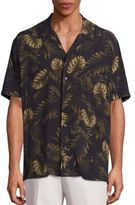 Vince Cabana Tropical Pint Shirt