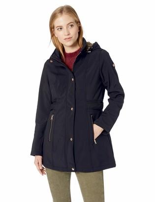 Jessica Simpson Women's Softshell Fashion Jacket Down Alternative Coat