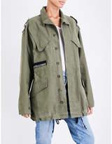 A Gold E AGOLDE A$ap ferg cotton-drill jacket