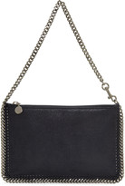 Stella McCartney Navy Falabella Pouch