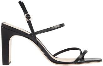 Schutz Amaia Slingback Leather Sandals