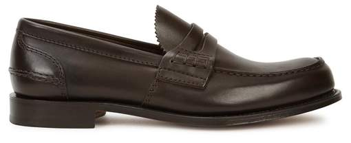 Church's Pembrey Brown Leather Loafers