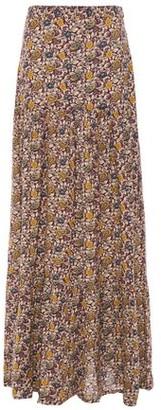 BA&SH Printed Voile Maxi Skirt