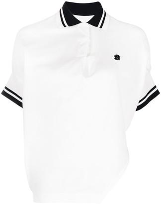 Sacai Asymmetric Polo Shirt