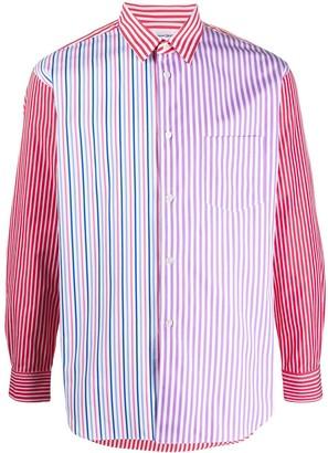 Comme des Garçons Shirt Multi-Stripe Regular Fit Shirt