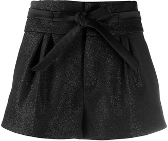 Saint Laurent Tie-Waist Shorts