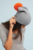 Anthropologie Contrast Pom Beanie