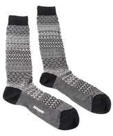 Missoni Gm00cmu4655 0004 Black/white Knee Length Socks.