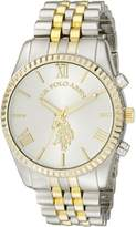 U.S. Polo Assn. Women's USC40057 Two-Tone Bracelet Watch
