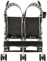 Delta Children's Delta Children City Street Side by Side Stroller, Black