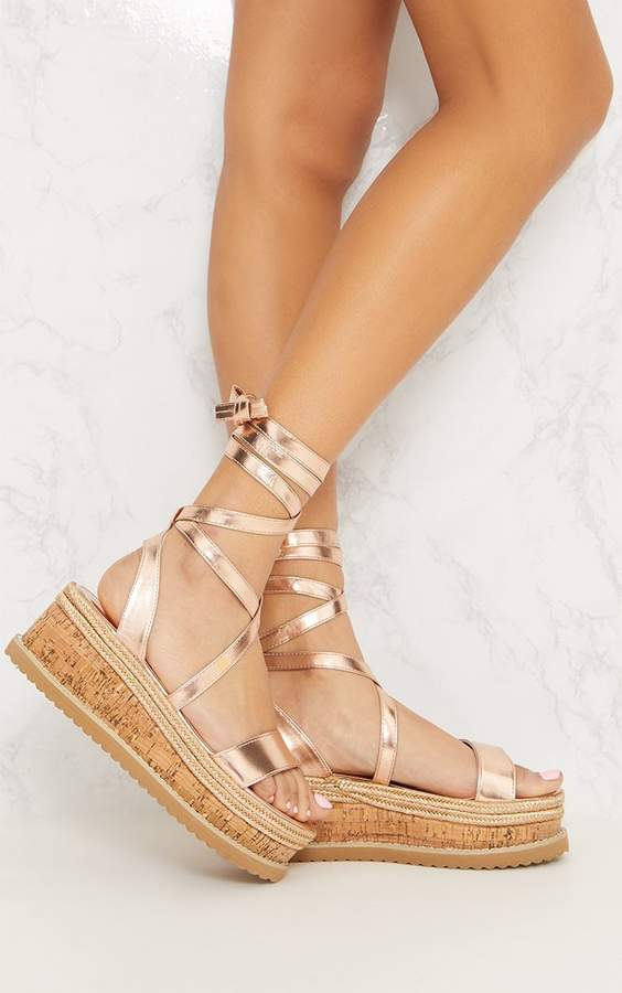c120515c51 Rose Gold Sandals With Platform - ShopStyle UK