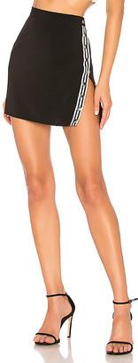 superdown Abi Snap Button Mini Skirt