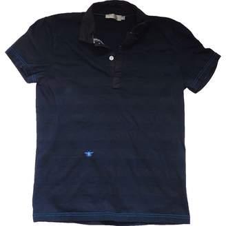 Christian Dior Blue Cotton Tops