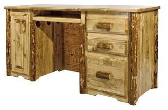 Loon Peak Tustin Solid Wood Desk