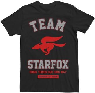 Nintendo Men's Team Star Fox Logo Tee