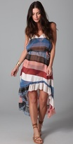 Wild Stripe Maxi Dress