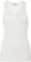 Tibi Fitted Ribbed Tank