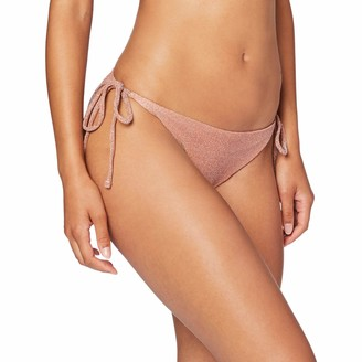 women'secret Women's Bikini Bottom Special Fabric with Glitter and Gradient Effect Print Not Applicable