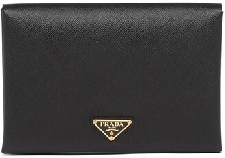 Prada Small Logo Plaque Document Holder