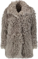 Iris and Ink Dulce shearling coat