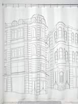 InterDesign Cityscape Shower Curtain