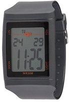 01 The One 01TheOne Unisex DG921GR Digital Plastic DG Series Watch